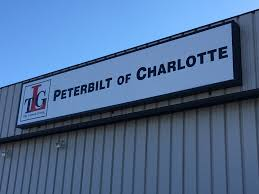 Outdoor Light Box Signs Exterior Lightbox Sign For Peterbilt Of Nc