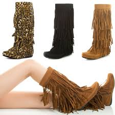womens fringe boots size 11 48 boot moccasins for moccasin boots for fashion
