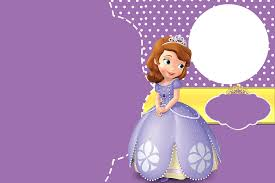 Editable 1st Birthday Invitation Card Hpw To Create Sofia The First Birthday Invitations Templates