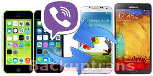 chat between iphone and android transfer viber chat history between android and iphone easily