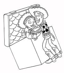 toy story jessie coloring pages alltoys