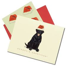 black christmas cards santa black lab christmas cards dog cards christmas cards