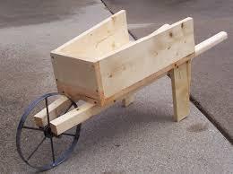 Wooden Wheelbarrow Planter by Old Fashioned Wooden Wheelbarrow By Grandmat Gardentenders Com