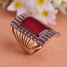 vintage rings designs images Square design turkish royal vintage ring trend20 the turkish style jpg