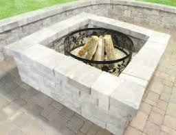 fire pit made of bricks how to build a fire pit