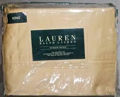 Ralph Lauren Sheet Set Details About Lauren Ralph Lauren King Sheet Set Of 4 Italian