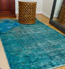 Faded Persian Rug by Over Dyed Oriental Rugs Roselawnlutheran
