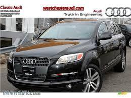 audi truck for sale 2008 audi q7 3 6 premium quattro in phantom black pearl effect