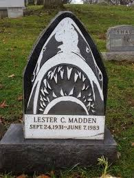 headstone pictures the shark tombstone of allegheny cemetery pittsburgh