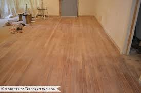 the way to sand hardwood floors