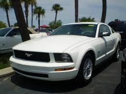 white 2009 mustang 2009 ford mustang v6 coupe for sale stock s9017