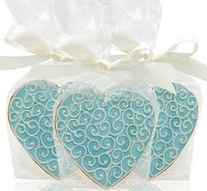 Cookie Favors by Delectable Wedding Cookie Favors Here Comes The