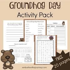 wonderful groundhog math worksheets gallery free printables