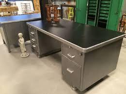 Itsthat Lips Stripped Steel Desk Sold Bureau Vintage