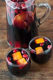 punch recipes for thanksgiving cranberry sangria what u0027s gaby cooking