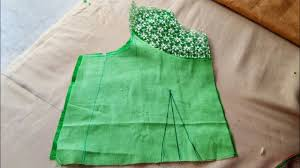 simple blouse easy cutting with boat neck one tuks youtube