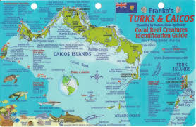 turks u0026 caicos dive map u0026 reef creatures guide franko maps