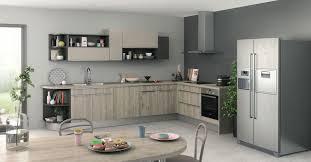 cuisine effet bois cuisine en bois quel modèle choisir côté maison