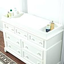 cherry changing table dresser combo cherry changing table dresser with top wood target graco