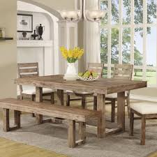 Cheap Dining Sets Coaster Company Elmwood Collection Dining Table Walmart Com