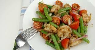 cuisine haricot vert salade de crevettes et haricots verts recette par tchop afrik a