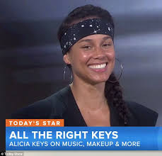 Alicia Keys Meme - alicia keys explains why she s going makeup free and gets today s