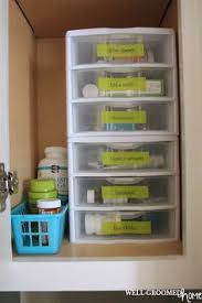 bathroom cabinet organizer ideas organized medicine cabinet by affected part diy