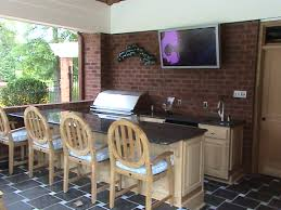 Outdoors Kitchens Designs by Built In Grills Archadeck Custom Decks Patios Sunrooms And
