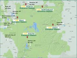 Map Of Yellowstone National Park Yellowstone Family Activities In Big Sky Country Montana Blog
