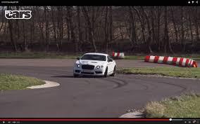 bentley news road u0026 track sliding a 2195 kg bentley gt3 r chris harris on cars youtube