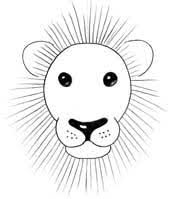 image gallery lion drawing easy