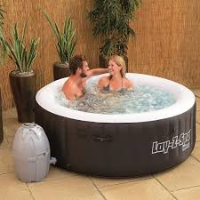 review of bestway lay z spa miami inflatable tub pool party app