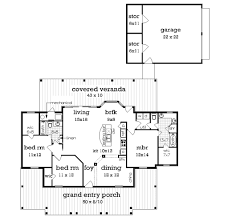 What Is Wic In Floor Plan Cottage Style House Plan 3 Beds 2 Baths 1516 Sq Ft Plan 45 378