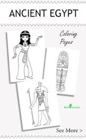 ancient egypt coloring page drawing for kids ancient egyptian boat ancient egypt coloring