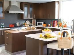 retro kitchen colour combinations with deep brown kitchen cabinet