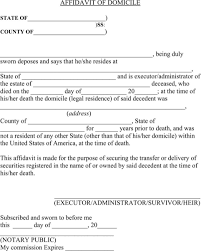 29 images of affidavit of domicile template microsoft word