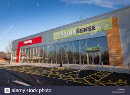 Home Sense And TK Maxx Store In Hedge End Hampshire Stock Photo - Tk maxx home furniture