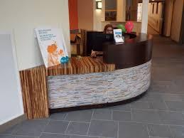 Custom Made Reception Desk Custom Made Modern Circular Reception Desk By Dwayne Bailey