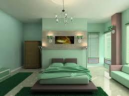 Turquoise Bed Frame Mint Bedroom Decor Glass Windows Hardwood Flooring Brown Wooden