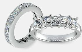 Wedding Rings Princess Cut by Styles For Princess Cut Wedding Bands