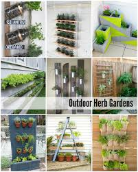 Herb Garden Layout Ideas by Outdoor Gardening Ideas For Small Gardens Home Decorating