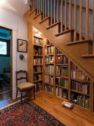 Under Stairs Shelves by Bookshelf Under Stairs 2 Space Savings Ideas Pinterest House