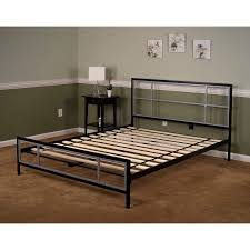 lincoln square full size metal bed frame hbedlinc fl