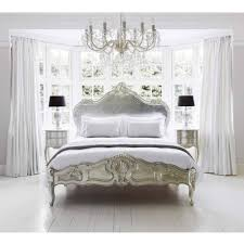 sylvia silver bed luxury bed