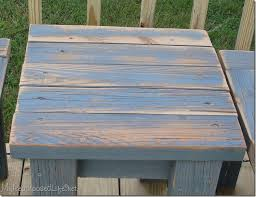 How To Make A Simple Wooden Bench - simple bench made from 2x4 u0027s my repurposed life