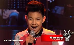The Voice Kids Blind Auditions 2014 Canada Based Pinoy Singing Sensation Darren Espanto Sets Social