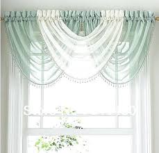 Sheer Curtains With Valance Valance With Sheer Curtains Intuitiveconsultant Me