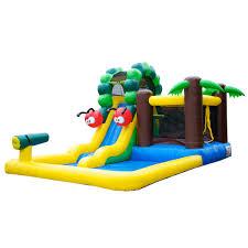 caterpillar bouncer jumper bounce house wet dry combo slide