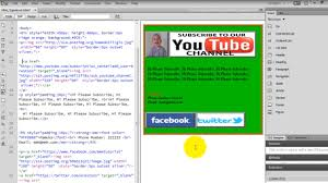 format html for email how to create html page and send html email youtube