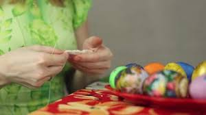 Decorating Easter Eggs Video by Preparation Of Easter Eggs The Feast Of The Passover Decorating